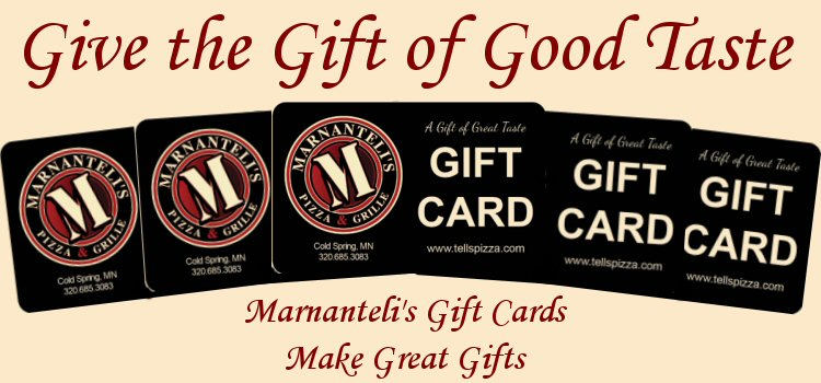 Marnanteli's Pizza & Grille Gift Cards